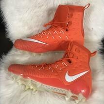 Nike Force Savage Elite TD Lineman Football Cleats Orange Size 16 - $68.31
