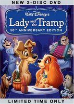 Walt Disney's Lady And The Tramp DVD - $10.99