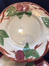 Franciscan APPLE Salad Plates - Set of 2  - $12.82