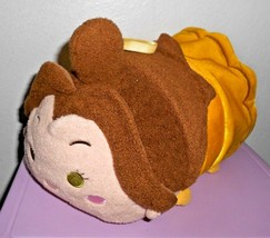 "Disney Tsum Tsum Belle Beauty and the Beast Plush Pillow 11"" Medium Yell... - $19.77"