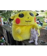 1998 Nintendo Pickachu & Mewtoo Plush Toy Collectibles - $180.00
