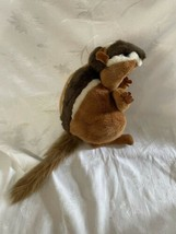 "Folktails Folkmanis Furry Folk Chipmunk Hand Puppet 9"" Plush Stuffed Animal Toy - $15.79"