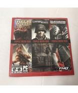 Triple Demo Disc Titan Quest, Supreme Commander & Company of Heroes - PC... - $8.66