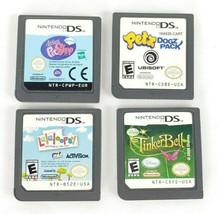 4 Nintendo DS Giochi Little Ragazze Lalaloopsy Petz Tinker Bell Pet Shop - $19.76