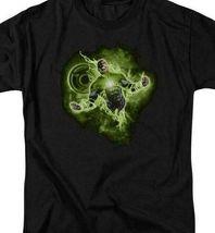DC Comics Green Lantern Corps retro comics graphic black t-shirt GL315 image 3