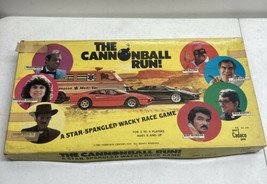 Vintage The Cannon Ball Run Board Game 1981 Cadaco Burt Reynolds Complete Nice - $19.80