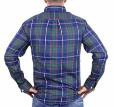 NEW MEN'S DOCKERS CLASSIC FIT CASUAL WOVEN FLANNEL SHIRT BLUE 8V043LK SIZE XL image 3