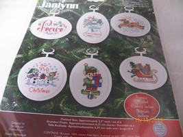 Counted Cross Stitch ornament kit new - $4.95
