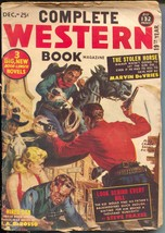 Complete Western Book 12/1952-Red Circle-Norman Saunders-violent gunfight-G/VG - $49.66