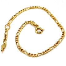 ARMBAND GELBGOLD 18K 750,OVALE ABWECHSELNDE,DICKE 2 MM,16 CM, image 2