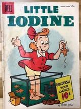 LITTLE IODINE #31 (1956) Dell Comics VG - $9.89