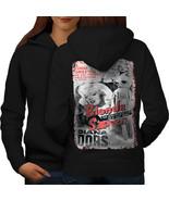 Blonde Spy Girl Fashion Sweatshirt Hoody Bombshell Spy Women Hoodie Back - $21.99+
