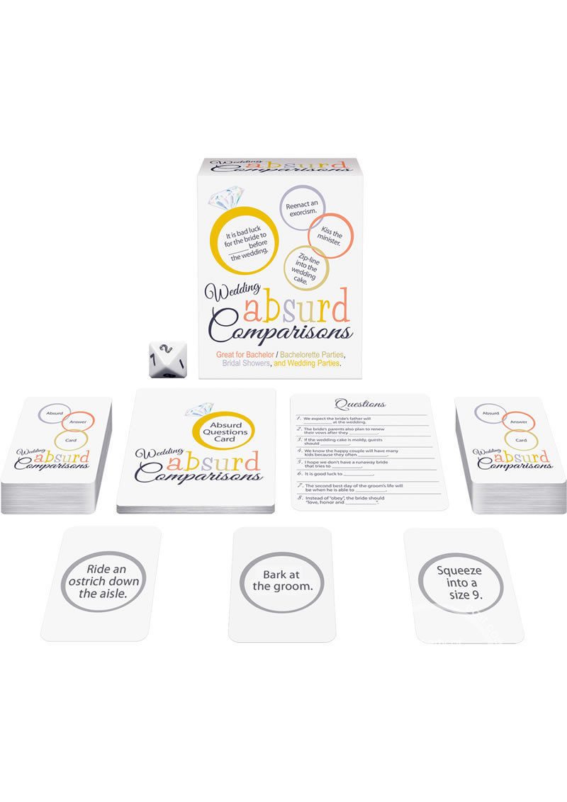Wedding Absurd Comparisons Game Bachelorette Party