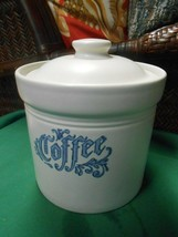 Great Pfaltzgraff Pottery Yorktowne ....Coffee Canister ... #508 - $17.41