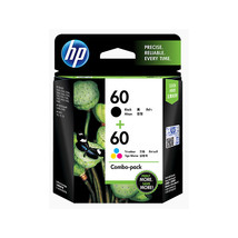 Combo Pack - HP 60 Black and Tri-color Ink Cartridges (for D2500/D2530/F... - $54.99