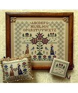 Jane and Cassandra cross stitch chart The Needl... - $10.80