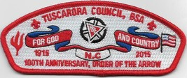 Tuscarora Council Lodge 296 2015 100th Anniversary CSP (F) - $11.88