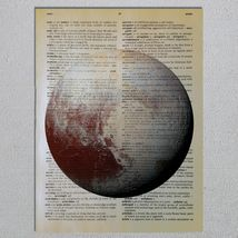 Choose a Science Biology Chemistry Physics Astronomy Dictionary Art Print image 15