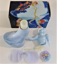 Avon Good Fairy Decanter Bottle 3 fl. oz. Delicate Daisies Cologne Full ... - $29.70