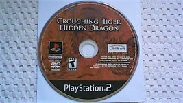 Crouching Tiger, Hidden Dragon (Sony PlayStation 2, 2003) - $4.20