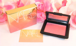 New NARS Blush Orgasm Peachy Pink Pressed Powder .16 oz 4.7 g Full Size ... - $25.99