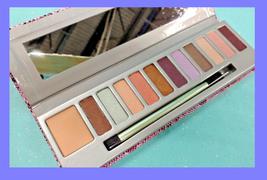 Mally CityChick LOVING LIFE 11pc Eyeshadow Palette Primer Brush Neutral ... - $10.87