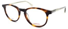 Carrera CA6636/N IJP Eyeglasses Frames Round 49-19-145 Havana Brown - $75.14