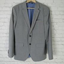 Banana Republic Jacket Blazer Mens 40 R Gray Suit Separate - $65.22