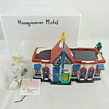 Dept 56 Snow Village Honeymooner Motel Lighted 5401-1 Vintage 1991 - $49.49