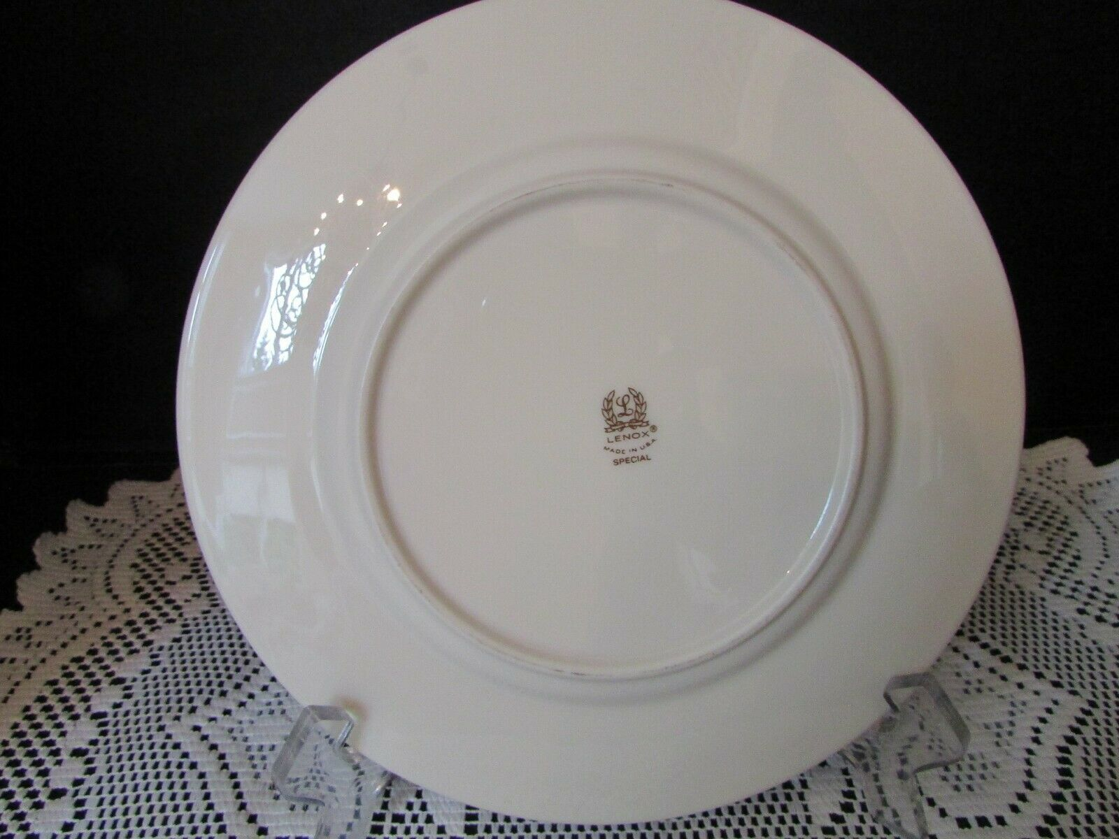 "LENOX CHINA HOLLY & BERRY SALAD PLATE 8-1/4"" DIMENSION COLLECTION USA  ""SPECIAL"" image 2"