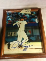 MIKE PIAZZA MLB AUTOGRAPHED BASEBALL PICTURE SIGNED - $25.35