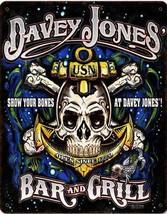 Davey Jones Bar and Grill Metal Sign - $30.00