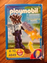 Playmobil 4849 Treasure Hunter Temple Guard with Orange Light New damage... - $5.99