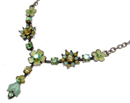 Necklaces For Women Statement Necklaces Blue Necklace Flower Necklaces - $15.64