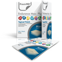 PatchMD Endurance Max Plus - Topical Patch (30 Day Supply) - EXP 2022 - $17.80
