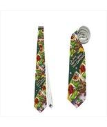 Necktie tie grinch christmas funny celebration family dinner  - $22.00