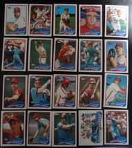 1989 Topps Philadelphia Phillies Team Set of 28 Baseball Cards - $3.50