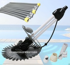 INGROUND AUTOMATIC SWIMMING POOL VACUUM CLEANER HOVER WALL CLIMB W/ 33FT... - $79.19