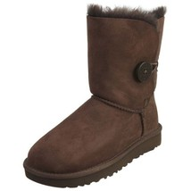 UGG Womens Bailey Button II Boots Chocolate 1016226 - £134.32 GBP