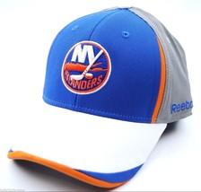 NEW YORK ISLANDERS  - REEBOK TT63Z NHL PRO SHAPE FLEX FIT HOCKEY CAP HAT... - $18.99