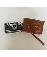 argus range finder camera and case  sold as is for parts display photo prop - $19.75