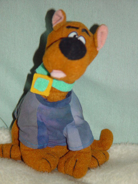 Primary image for Cartoon Network Scooby Doo Bean Bag Plush