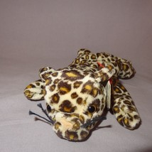 "Freckles Leopard Ty Beanie Baby Plush Stuffed Animal 9"" 1996 Cat Toy - $9.99"
