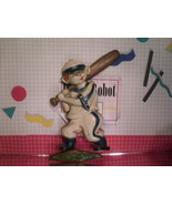 Baseball Player - Cast Aluminum Wall Plaque Sexton 1970 Vintage - $8.55