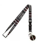 Deadpool X-Force Logo Marvel Comics ID Badge Holder Keychain Lanyard - $7.75