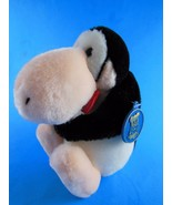 "Bloom Country Opus  Plush Penguin Doll with  Bowtie  6"" sitting  Dakin - $7.91"