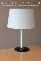 MID CENTURY MODERN LIGHTOLIER DESK LAMP! Eames Era Atomic 50s 60sWhite B... - €556,07 EUR