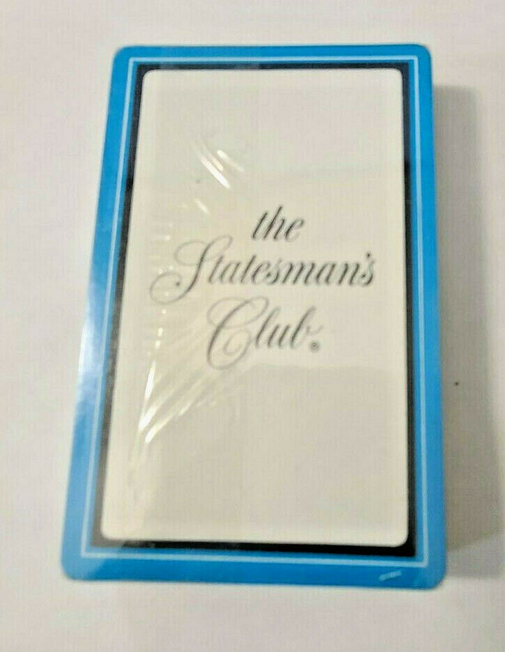 The Statesman's Club Deck of Playing Cards   (#39)