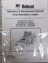 Bobcat S150 Skid Steer Operation & Maintenance Manual Operator/Owners 3 #6904124 - $22.08+
