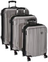 Travelers Choice Sedona 3 piece expandable spinner luggage set TC8000G - $296.99